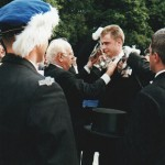 Krönung durch Pfarrer Heinrich Wolsing