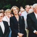 VdO Vorsitzender Jupp Gassen, Oberbürgermeisterin Bärbel Dieckmann, Otto Kranz