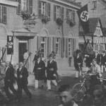 Schützenzug im 3. Reich, 1935